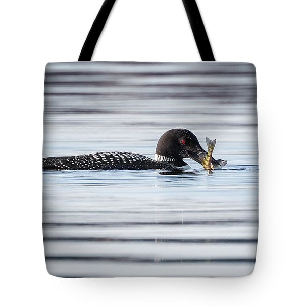 Fish For Lunch Tote Bag by Bill Wakeley