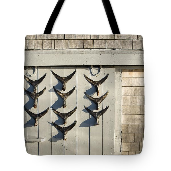 Fish Tail Shack Tote Bag by John Greim