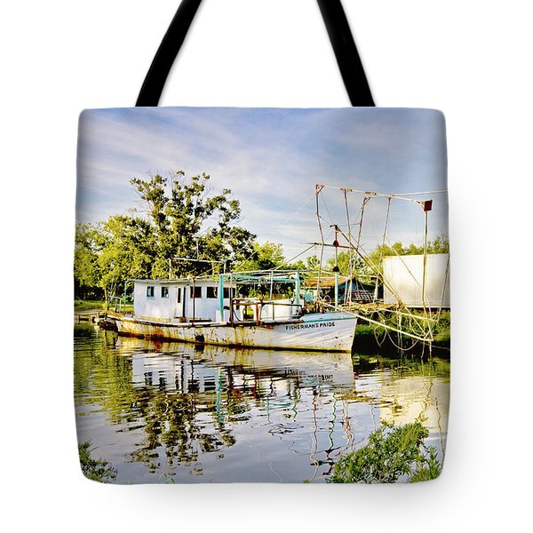 Fisherman's Pride Tote Bag by Scott Pellegrin