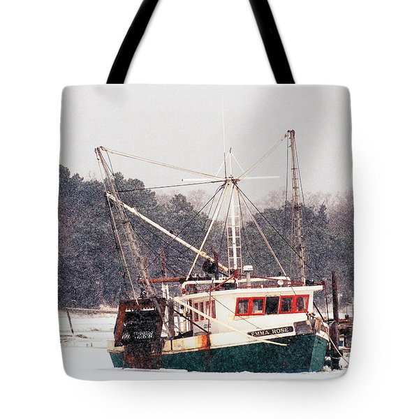 Boat Sales Cape Cod: Fishing Boat Emma Rose In Winter Cape Cod Photograph By