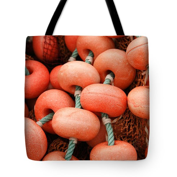 Fishing Buoys Tote Bag by Gaspar Avila