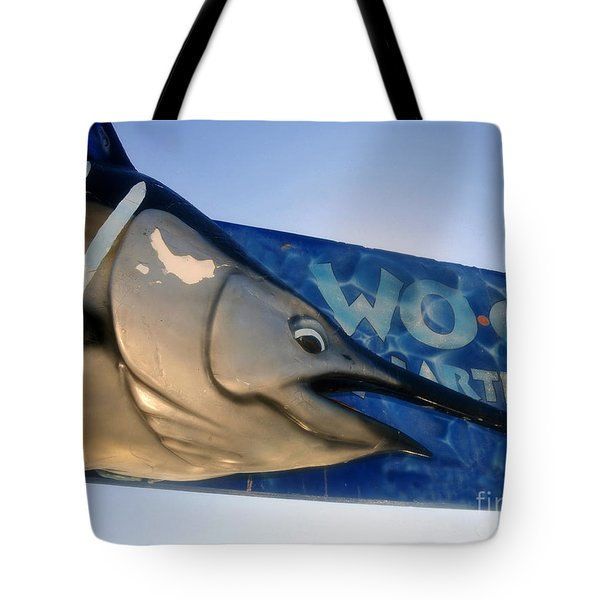 Fishing Charter Tote Bag by David Lee Thompson