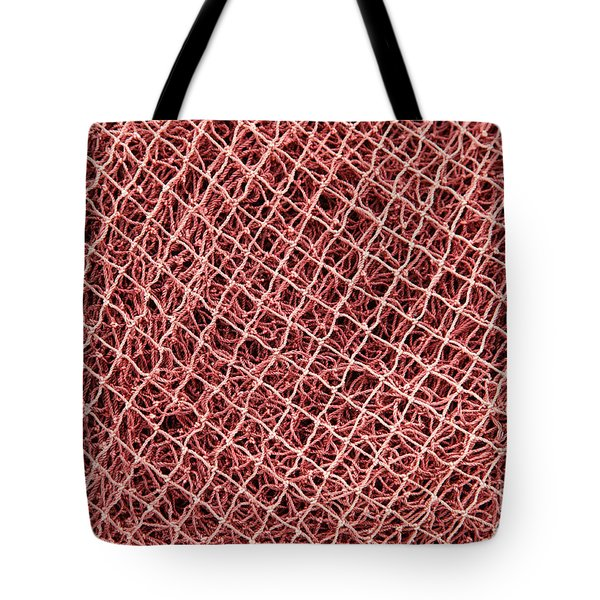 Fishing Nets Tote Bag by Gaspar Avila