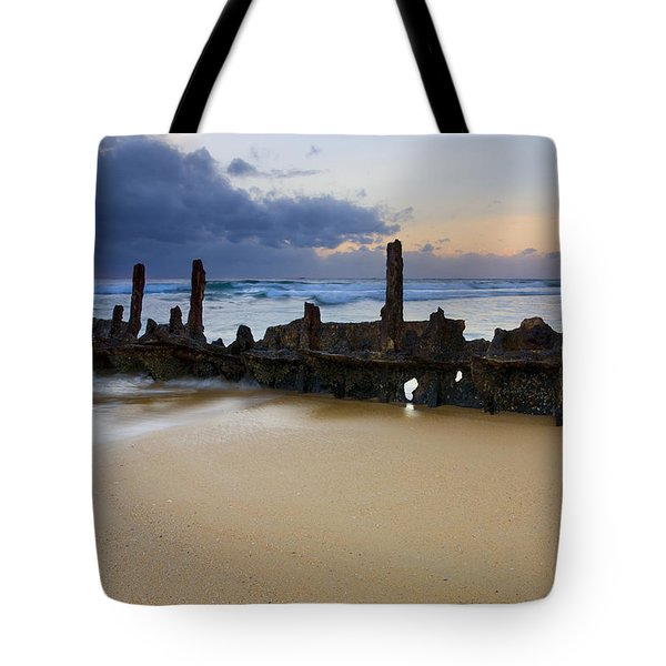 Fishing With History Tote Bag by Mike  Dawson