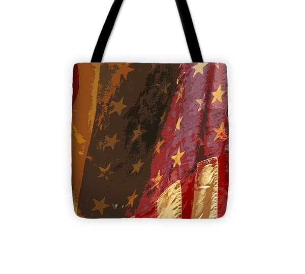 Flag 16 Tote Bag by Gary Everson