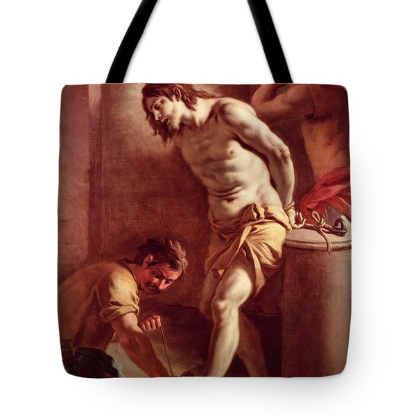 Flagellation Of Christ Tote Bag by Pietro Bardellini