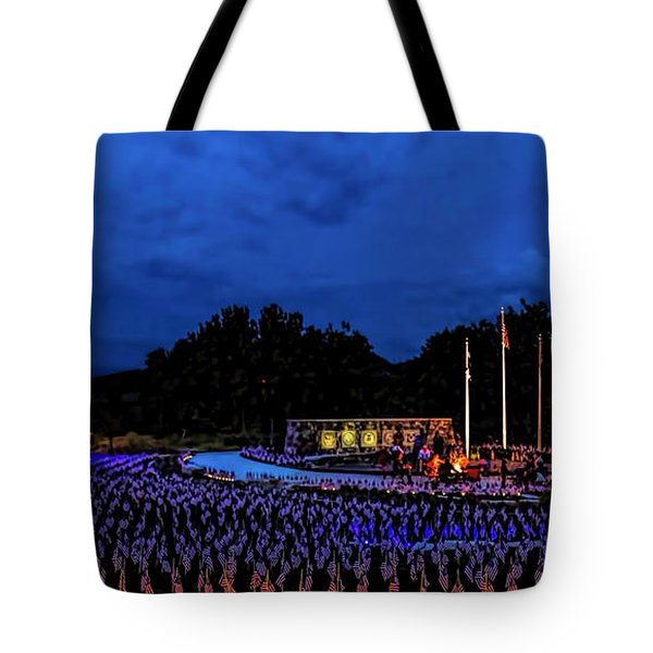 Flags of our Fathers Tote Bag by Jon Burch Photography