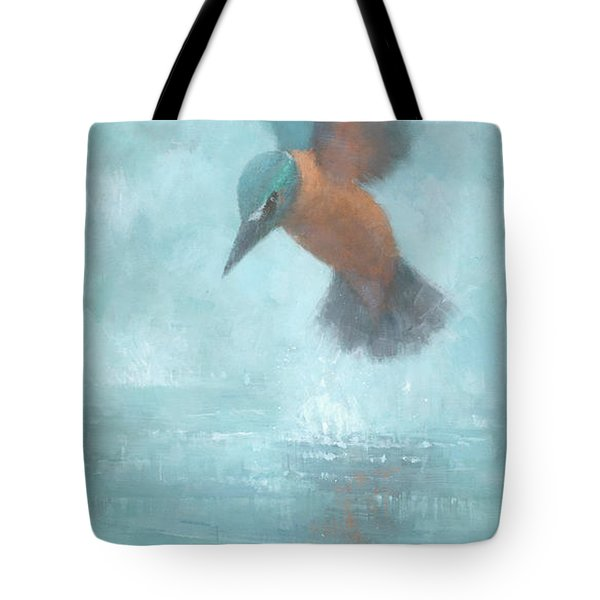 Flame In The Mist Tote Bag by Steve Mitchell