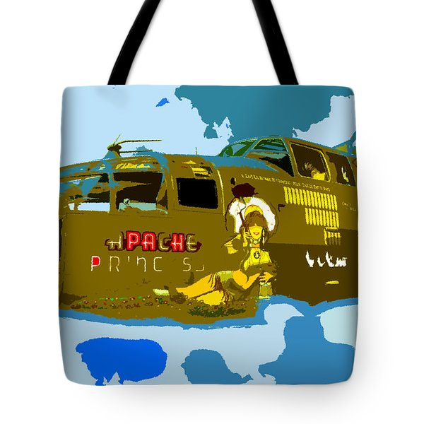Flight Of The Apache Princess Tote Bag by David Lee Thompson