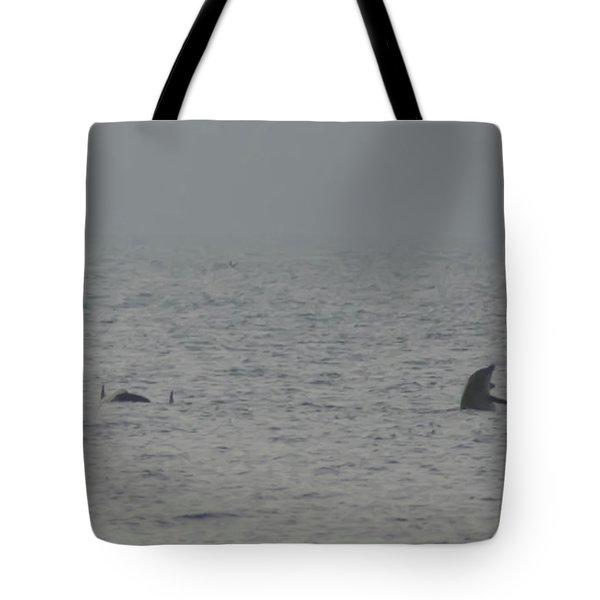 Flipper Tote Bag by Bill Cannon