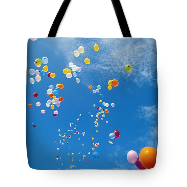 Float Away Tote Bag by Bob Abraham - Printscapes