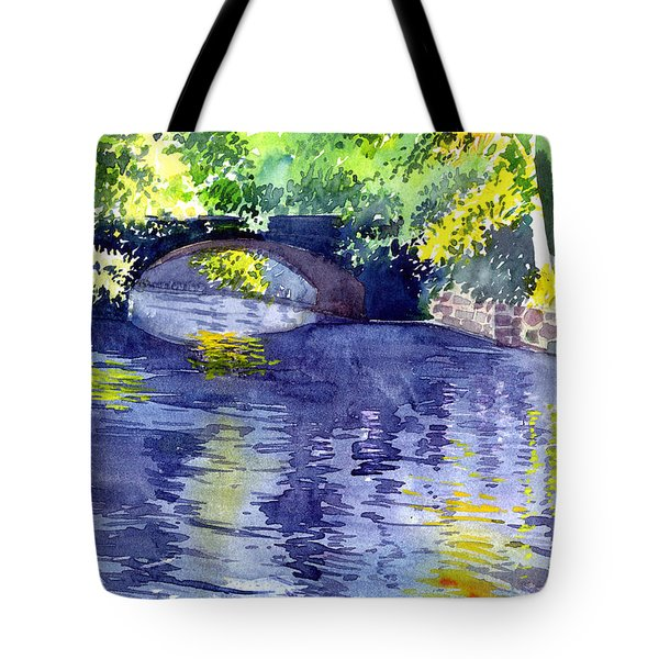 Floods Tote Bag by Anil Nene