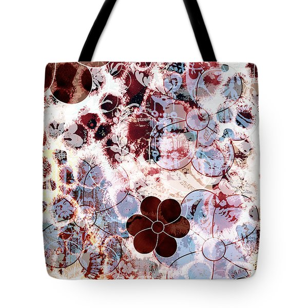 Floral Essence Tote Bag by Frank Tschakert