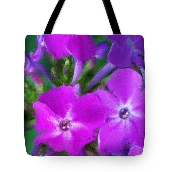 Floral Expression 2 021911 Tote Bag by David Lane