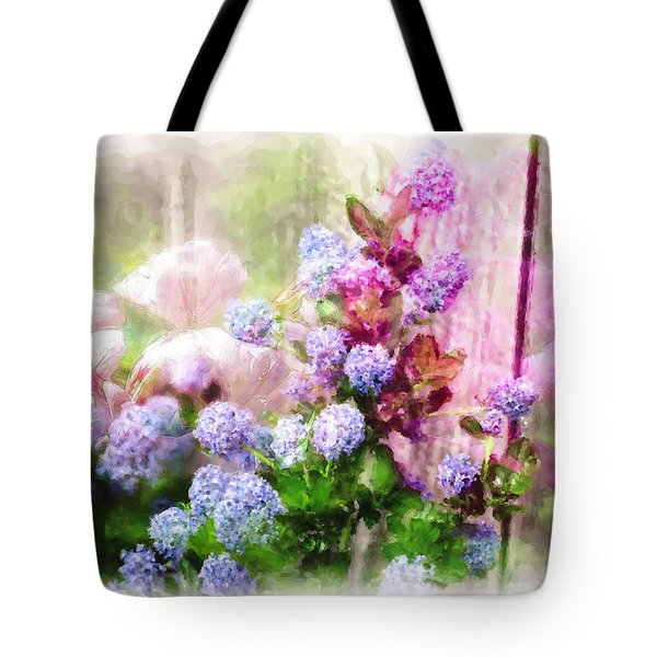 Floral Merge 11 Tote Bag by Artzmakerz