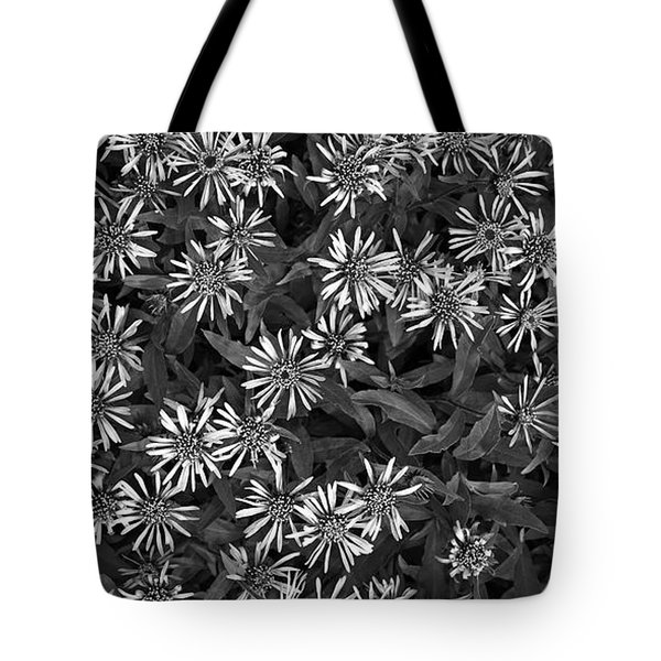flower carpet Tote Bag by Priska Wettstein