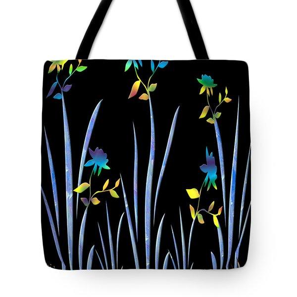 Flower Dance Tote Bag by Kurt Van Wagner