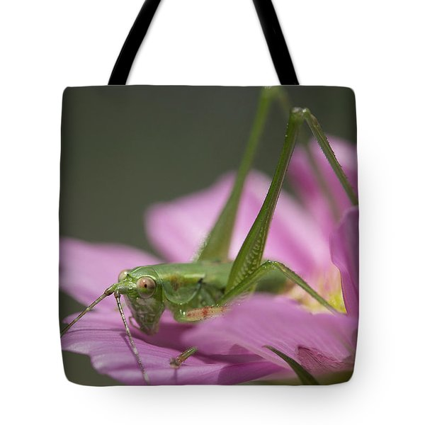 Flower Hopper Tote Bag by Michael Eingle