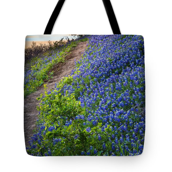 Flower Mound Tote Bag by Inge Johnsson