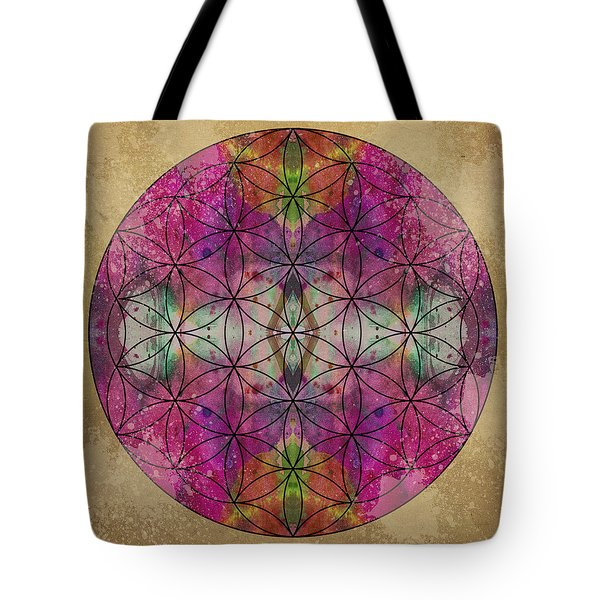 Flower of Life Tote Bag by Filippo B