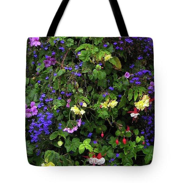 Flower Power Tote Bag by Kurt Van Wagner