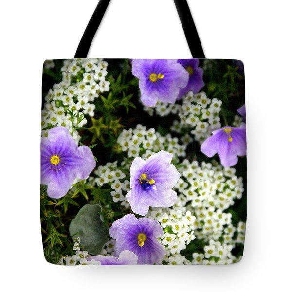 Flowers Etc Tote Bag by Marty Koch