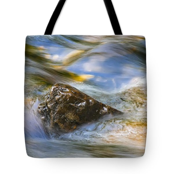 Flowing Water Tote Bag by Adam Romanowicz