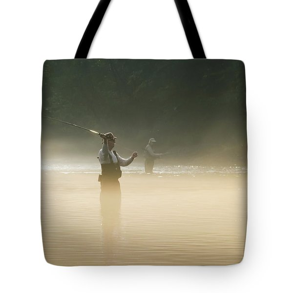 Fly Fishing  Tote Bag by Betty LaRue