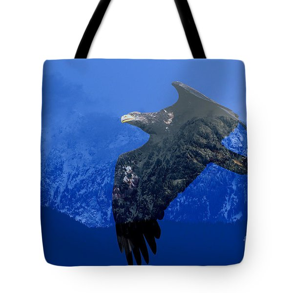 Fly Wild Fly Free Tote Bag by Sharon Talson