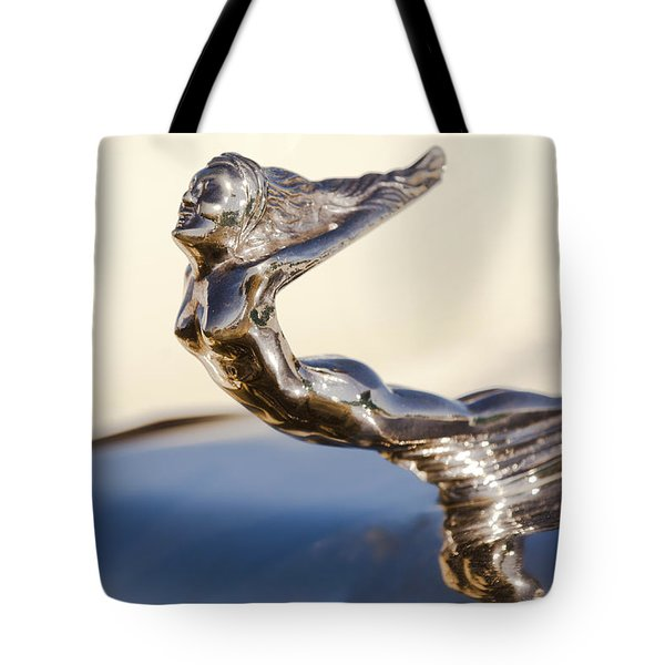 Flying Lady Hood Ornament Tote Bag by Jill Reger