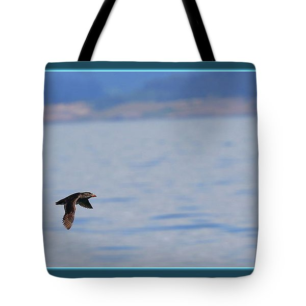 Flying Rhino Tote Bag by BYETPhotography