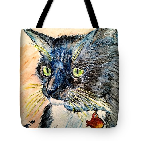 Focus Intent Tote Bag by Vonda Lawson-Rosa