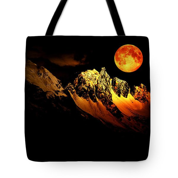 Follow Your Inner Moonlight Tote Bag by Michele Cornelius