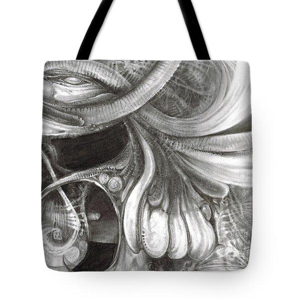 Fomorii Pod Tote Bag by Otto Rapp