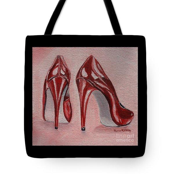 Foot Candy Tote Bag by Julie Brugh Riffey