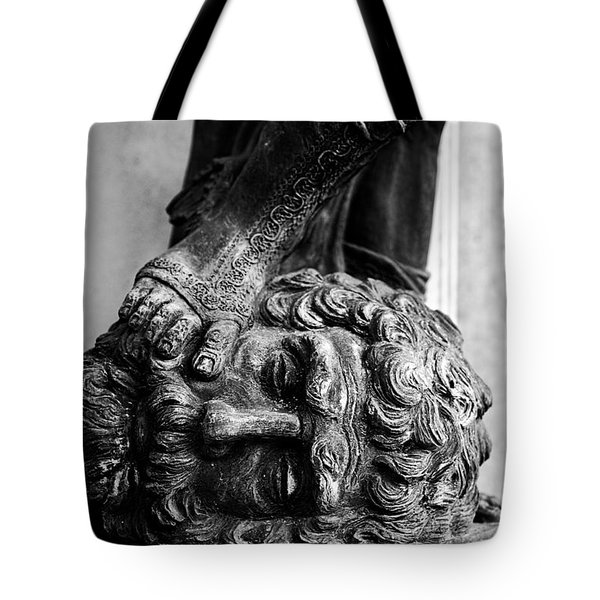 Foot Rest B-w Tote Bag by Christopher Holmes