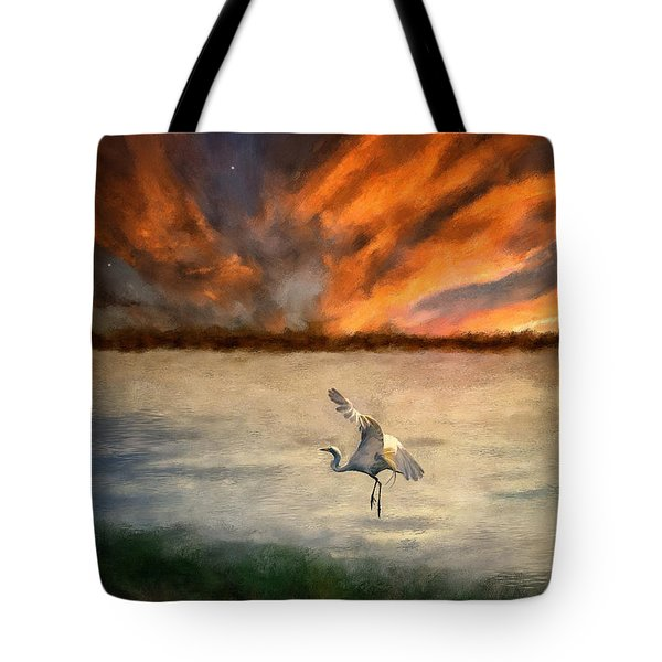 For Just This One Moment Tote Bag by Lois Bryan