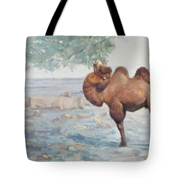 Foraging Tote Bag by Chen Baoyi
