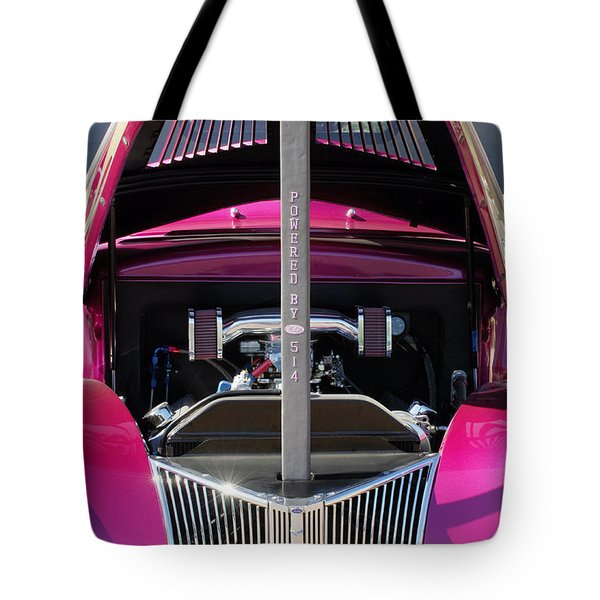 Ford Hot Rod Grille Tote Bag by Jill Reger