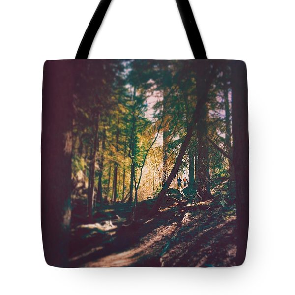 Forest Tote Bag by Brennan Gallegos