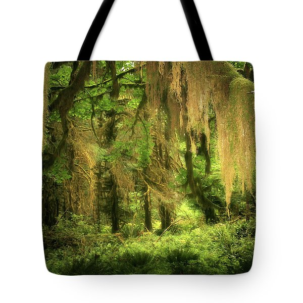 Forest Fantasy - Quinault - Gateway to Paradise on the Olympic Peninsula WA Tote Bag by Christine Till