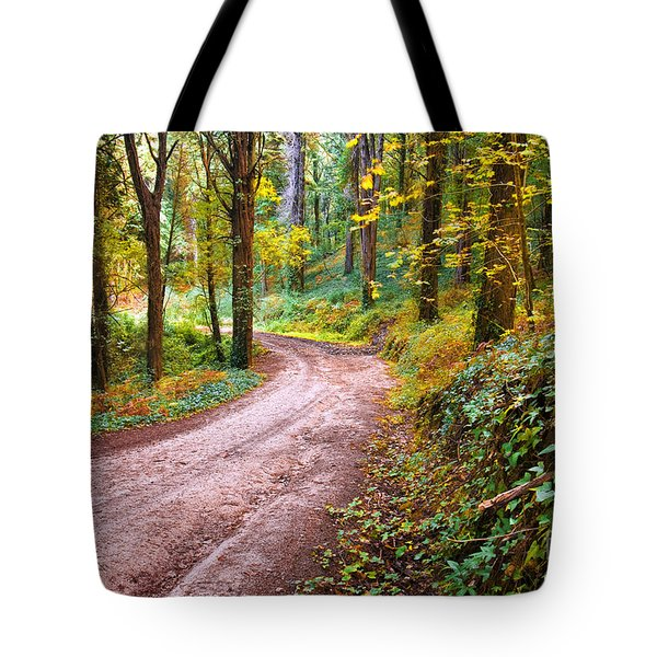 Forest Footpath Tote Bag by Carlos Caetano