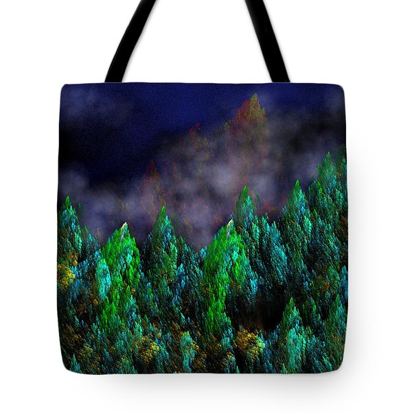 Forest Primeval Tote Bag by David Lane
