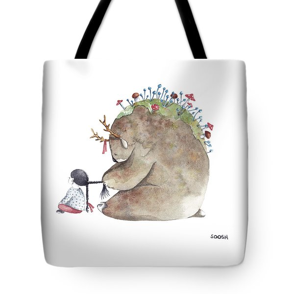 Forest Spirit Tote Bag by Soosh