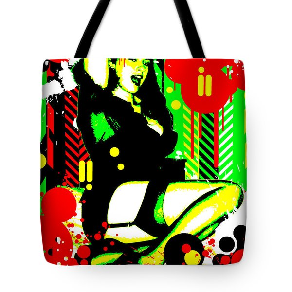 Forever Pinup I Tote Bag by Chris Andruskiewicz