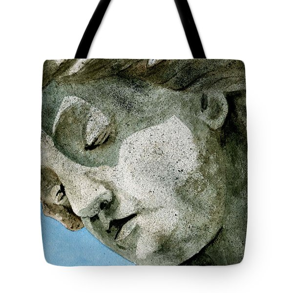 Forever Yours Tote Bag by Brenda Owen