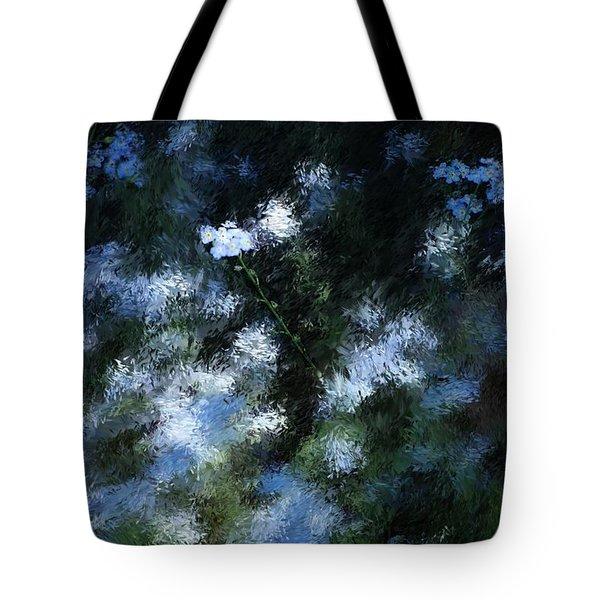 FORGET Me Not Tote Bag by David Lane