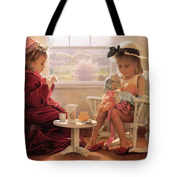 Formal Luncheon Tote Bag by Greg Olsen