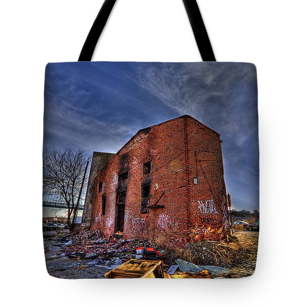 Forsaken Luxury Tote Bag by Evelina Kremsdorf