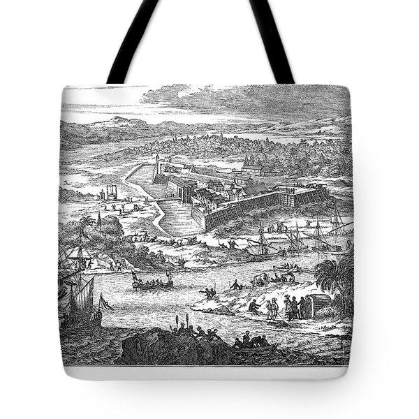 Fort Caroline, 1673 Tote Bag by Granger